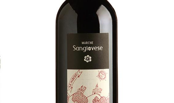 marche sangiovese organica red italian wine