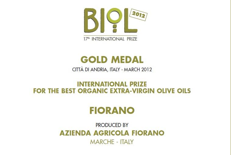 premio biol extravergin olive oil