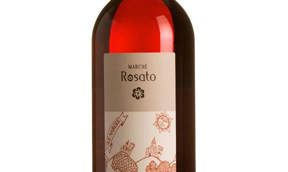 organic winr rosè marche